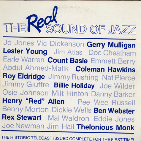 V.A. - The Real Sound Of Jazz