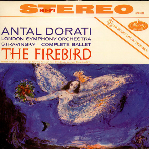 Igor Stravinsky / The London Symphony Orchestra / Antal Dorati - The Firebird