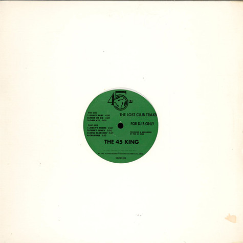 45 King, The - The Lost Breakbeats (The Green Album)
