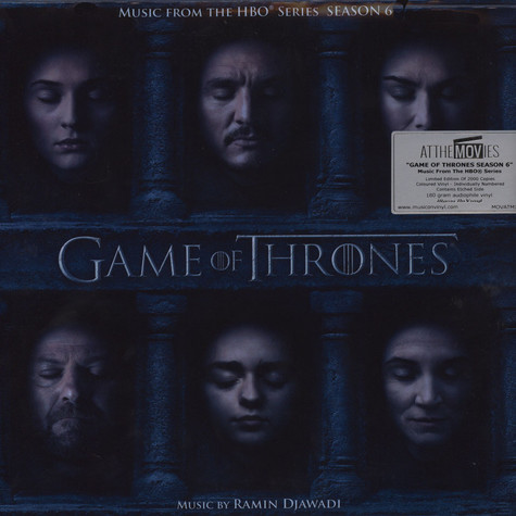Ramin Djawadi - OST Game Of Thrones Season 6 Colored Vinyl Edition