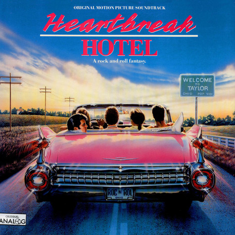 Elvis Presley & Alice Cooper - OST Heartbreak Hotel