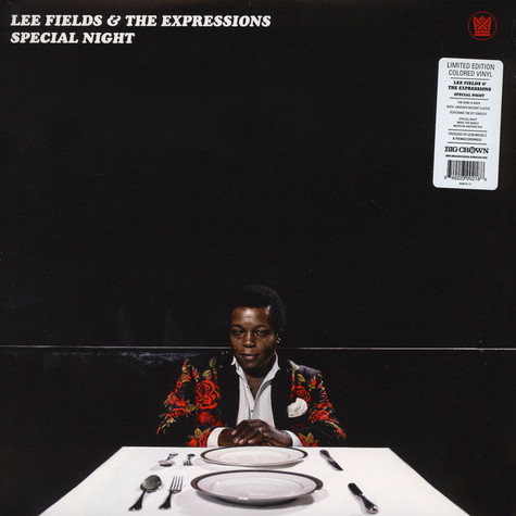 Lee Fields & The Expressions - Special Night Translucent Red Vinyl Edition