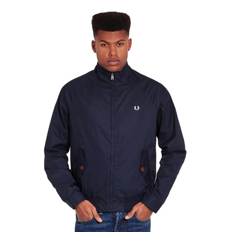 fred perry ealing jacket bright navy hhv. Black Bedroom Furniture Sets. Home Design Ideas