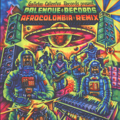 V.A. - Palenque Records AfroColombia Remix Volume 1