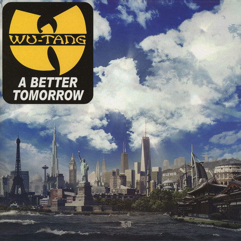 Wu-Tang Clan - A Better Tomorrow Clear Vinyl Edition