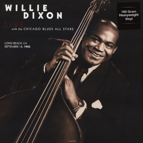Willie Dixon & The Chicago Blues All Stars - Long Beach, CA, September 18, 1983