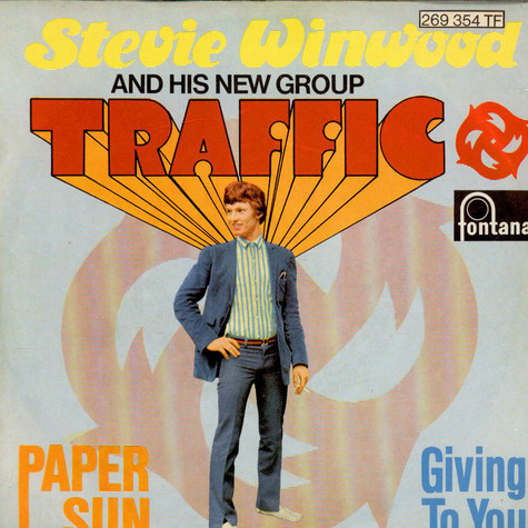 Steve Winwood And His New Group Traffic - Paper Sun