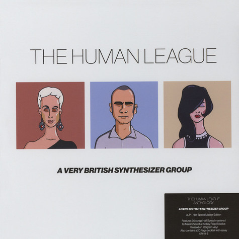 Human League, The - Anthology -  Half-Speed Master Edition