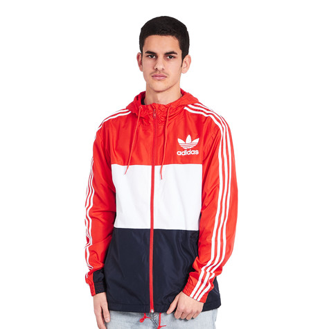 d6a81f786 adidas - CLFN Windbreaker (Core Red) | HHV