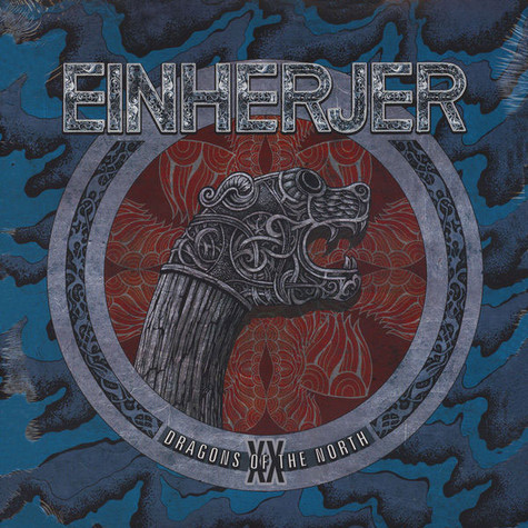 Einherjer - Dragons Of the North Blue Vinyl Editin