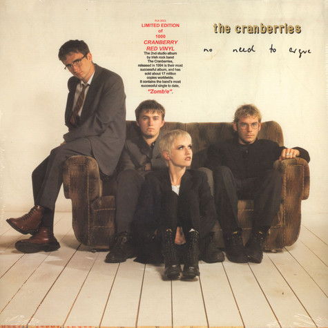 Cranberries, The - No Need To Argue Cranberry-Colored Vinyl Edition