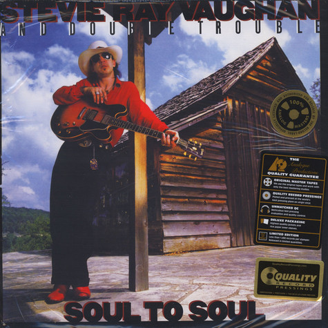 Stevie Ray Vaughan - Soul To Soul 45RPM, 200g Vinyl Edition
