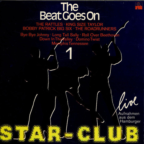 """V.A. - The Beat Goes On Vol. 1 """"Star-Club Live"""""""