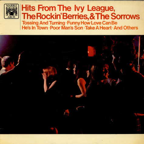 The Ivy League, The Rockin' Berries & The Sorrows - Hits From The Ivy League, The Rockin' Berries, & The Sorrows