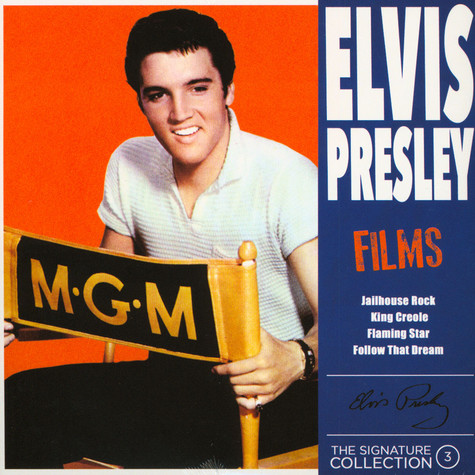 Elvis Presley - Films Blue Vinyl Edition