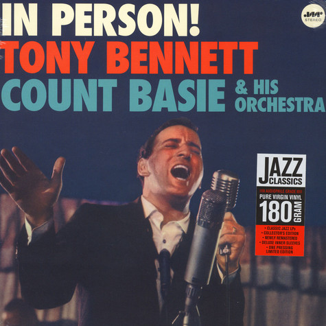 Tony Bennet with Count Basie And His Orchestra - In Person!