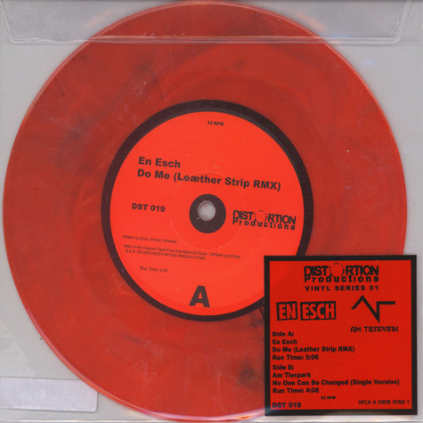 Am Tierpark / En Es - No One Can Be Changed (Single Edit) / Do Me (LS Mix)