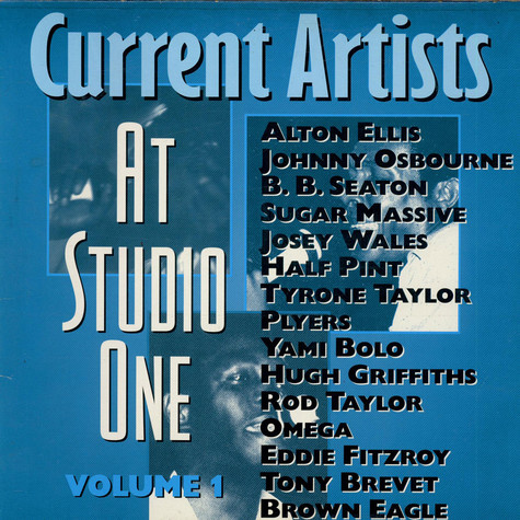 V.A. - Current Artists At Studio One Volume 1