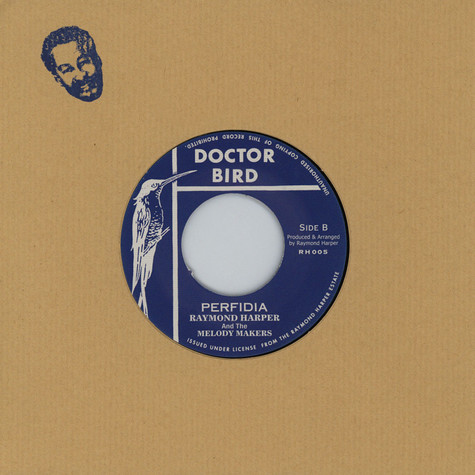Raymond Harper & Carib Beats, The  /  Raymond Harper & Melody Makers,  The - Perfidia / Shock Attack
