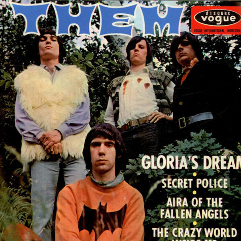 Them - Gloria's Dream / Secret Police / Aira Of The Fallen Angels / Crazy World Inside Me
