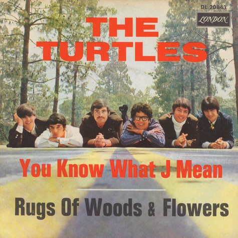 Turtles, The - You Know What I Mean / Rugs Of Woods & Flowers