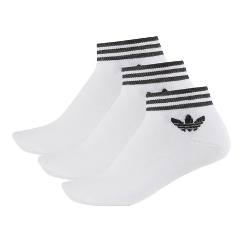 adidas - Trefoil Ankle Stripe Socks