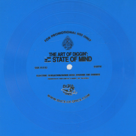 Lord Finesse - Electric Sensation / Down Here Around The Corner