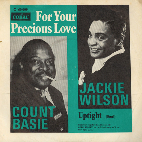 Jackie Wilson And Count Basie - Uptight (Everything's Alright) / For Your Precious Love