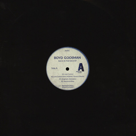Boyd Goosman - Back In The Race EP Cadency (Hector Oaks) Remix