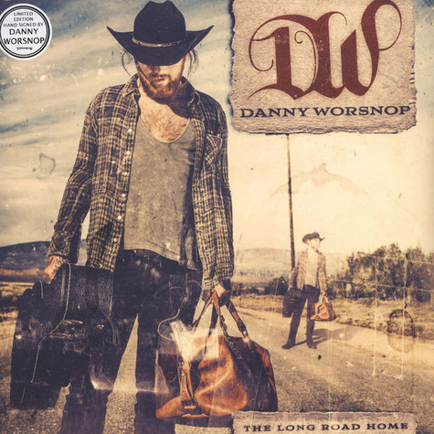 Danny Worsnop - The Long Road Home Signed Edition