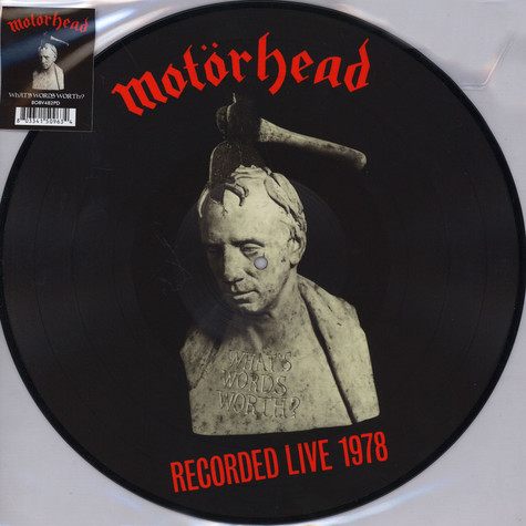 Motörhead - What's Words Worth? Picture Disc Edition