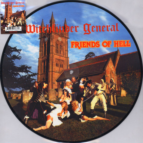 Witchfinder General - Friends Of Hell Picture Disc Edition