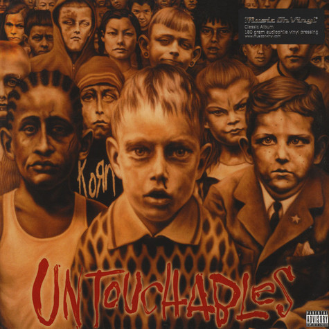 Korn - Untouchables Black Vinyl Edition