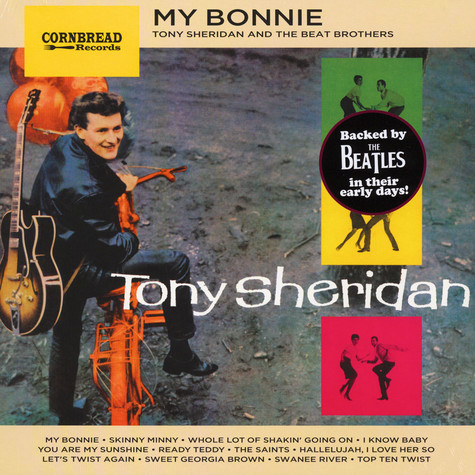 Tony Sheridan My Bonnie Vinyl Lp 1961 Eu Reissue