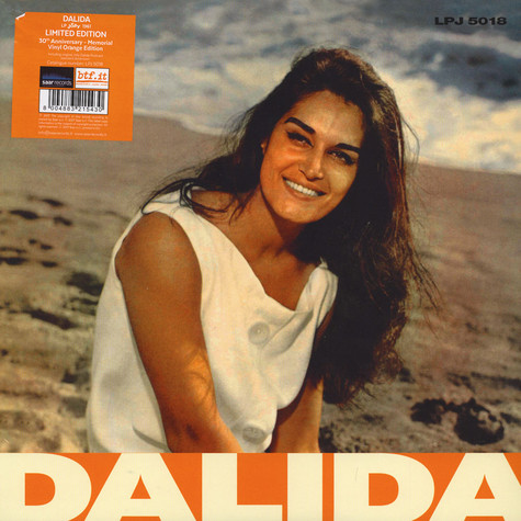 Dalida - The Jolly Years 1959/ 62 Orange Vinyl Edition