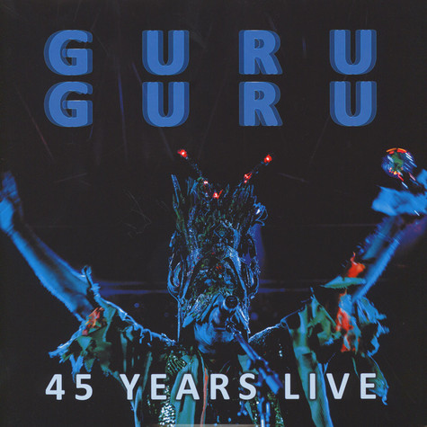 Guru Guru - 45 Years Live Blue Vinyl Edition