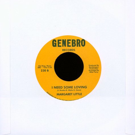 Margaret Little - Love Finds A Way / I Need Some Loving