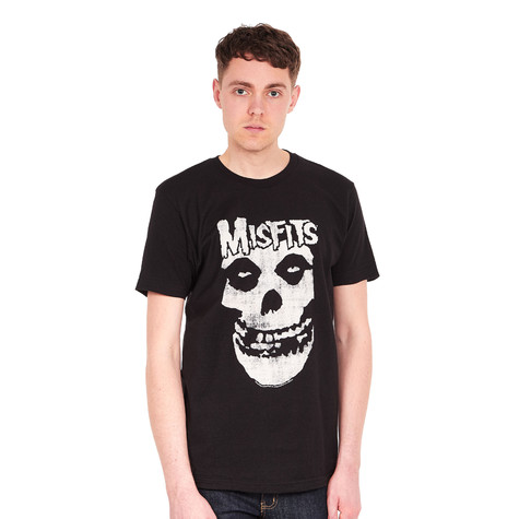 Misfits - Distressed Skull T-Shirt
