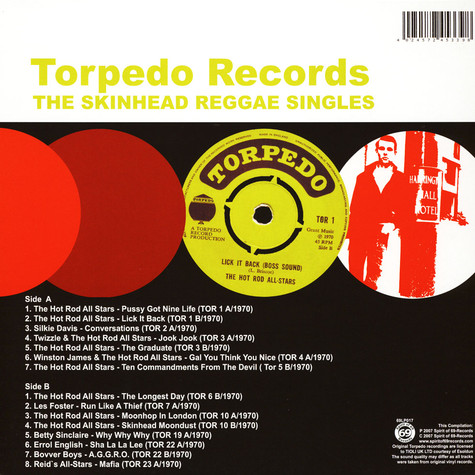 V.A. - Torpedo Records - The Skinhead Reggae Singles