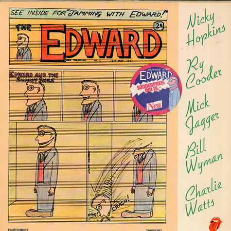 Nicky Hopkins, Ry Cooder, Mick Jagger. Bill Wyman, Charlie Watts - Jamming With Edward!