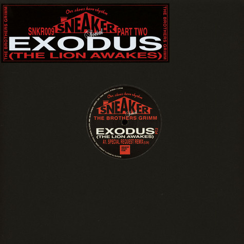 Brothers Grimm, The - Exodus (The Lion Awakes) Special Request & DJ Die / Addison Groove Remixes