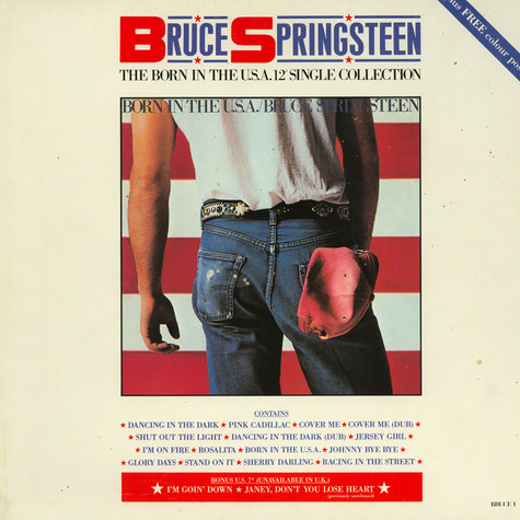 "Bruce Springsteen - The Born In The U.S.A. 12"" Single Collection"