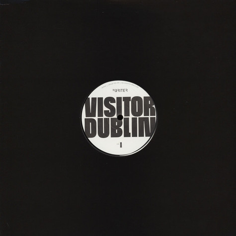 Visitor - Dublin Black Vinyl Edition