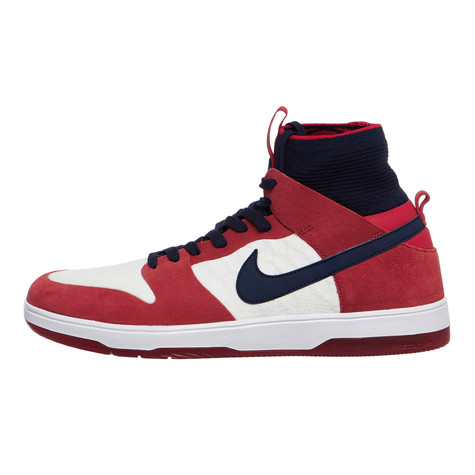f9f1b18bc276 Nike SB - Zoom Dunk High Elite (University Red   College Navy ...