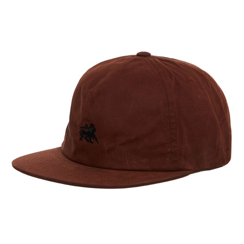 Stüssy - Wax Cotton Strapback Cap