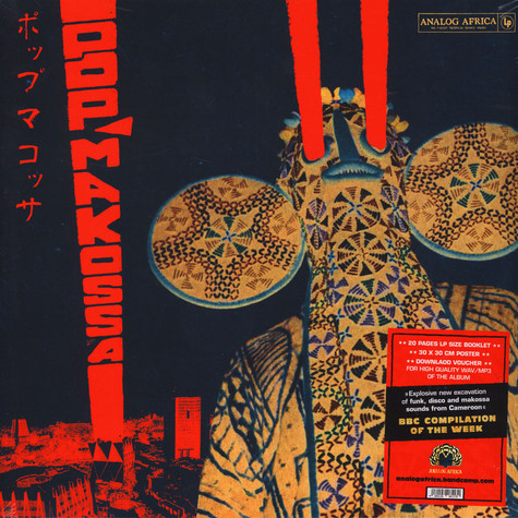 Pop Makossa - The Invasive Dance Beat Of Cameroon 1976-1984
