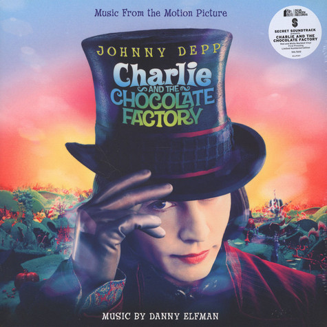 Danny Elfman - OST Charlie And The Chocolate Factory Colored Vinyl Edition
