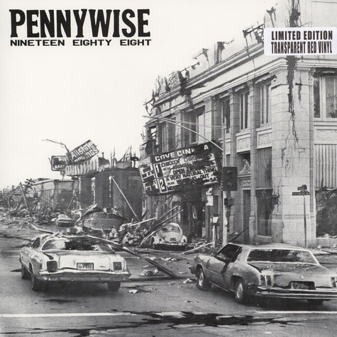 Pennywise - Nineteen Eighty Eight Red Vinyl Edition