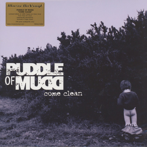 Puddle Of Mudd - Come Clean Clear Vinyl Edition