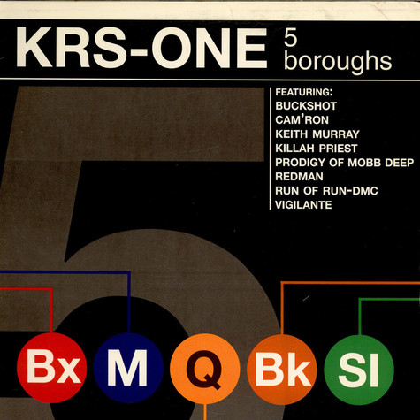 KRS-One   - 5 Boroughs